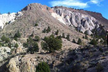 Terrain near Caliente where mountain biking trails are to be built.