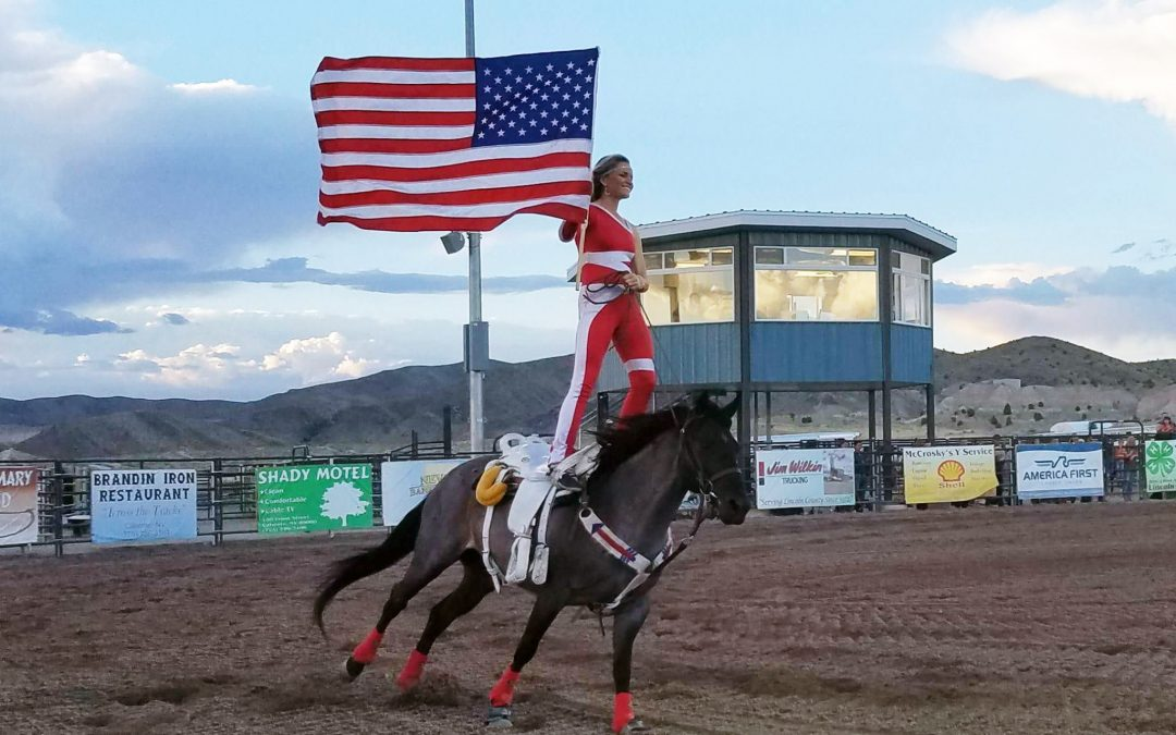 Riata Ranch Cowboy Girls Impress at Lincoln County Fair