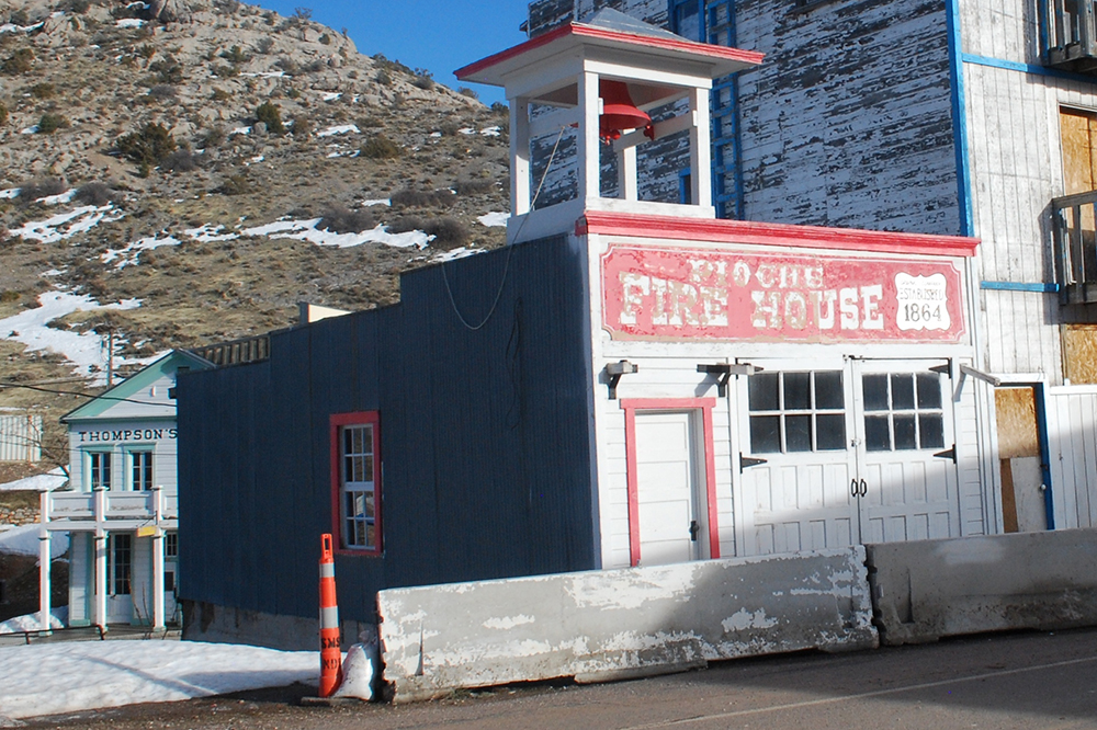 Pioche Fire House Added to National Register of Historic Places