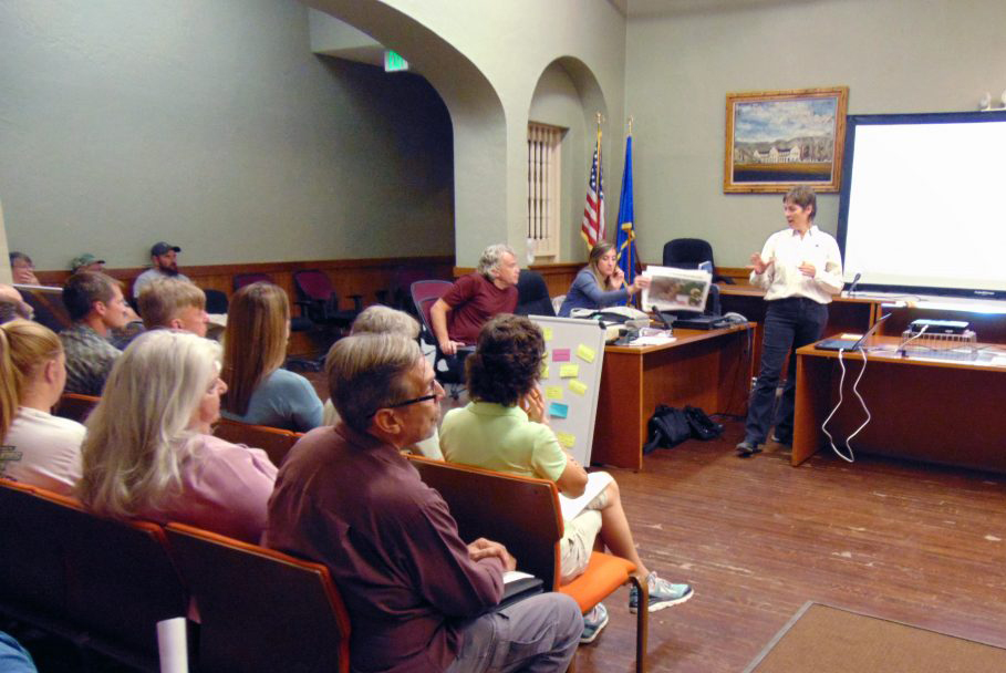 Lincoln County Record: Community Discusses Opportunities from New Trails